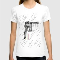 gun T-shirts featuring Gun  by Forrest Wright