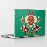 deco Laptop & iPad Skins featuring Mono Deco by Ashley Hay