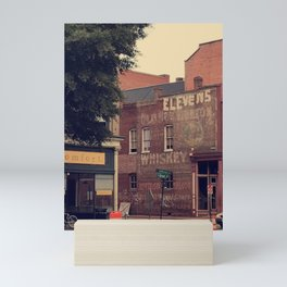 downtown richmond lucky comfort Mini Art Print