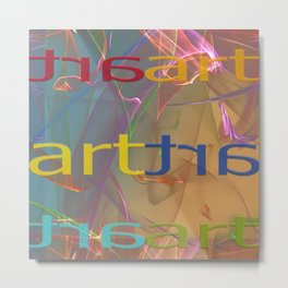artline Metal Print