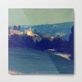 Italian countryside A Metal Print