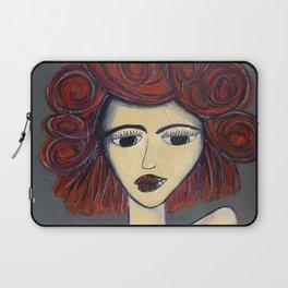 Fire Woman Laptop Sleeve