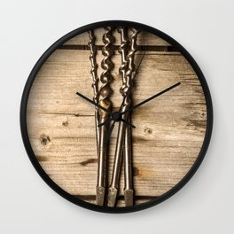 Much loved tools Wall Clock