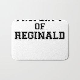Property of REGINALD Bath Mat