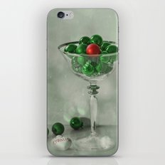 the red bauble iPhone & iPod Skin