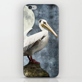 Pelican Night iPhone Skin