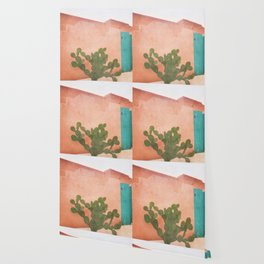 Strong Desert Cactus Wallpaper