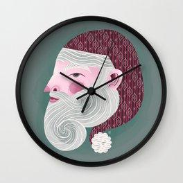 Kris Kringle Wall Clock