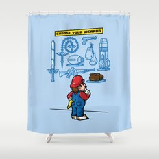 Weapon of Choice Shower Curtain