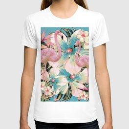 Vintage Flamingo Aloha T-shirt