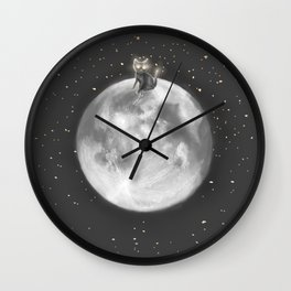 Lost in a Space / Moonelsh Wall Clock