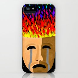 The Color of Tragedy iPhone Case