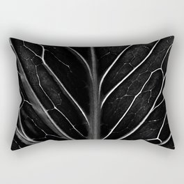 The black leaf Rectangular Pillow