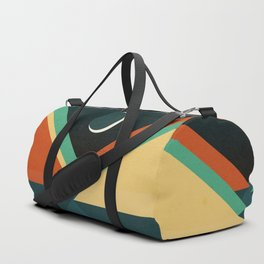 Quiet stream under crescent moon Duffle Bag