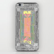 Glitch in the Style of Art Nouveau  iPhone & iPod Skin