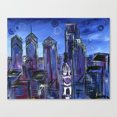 Starry Philadelphia Canvas Print