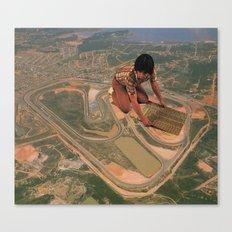 Interlagos Racetrack Canvas Print