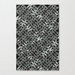 Black and White Design Canvas Print