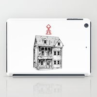 pagan iPad Cases featuring Petite Mort by Tom Kitchen