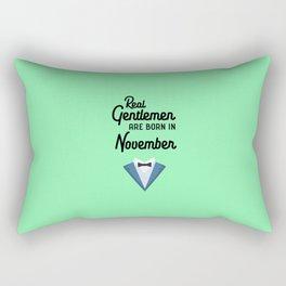 Real Gentlemen are born in November T-Shirt D89dk Rectangular Pillow