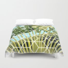 Polynesian Palm Duvet Cover