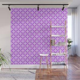 Trellis_Purple Wall Mural