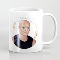 stargate Mugs featuring Stargate - Teal'c by Sunol Golden