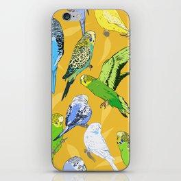 Budgies - Yellow iPhone Skin