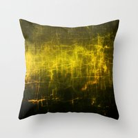 sia Throw Pillows featuring ε Tauri by Nireth
