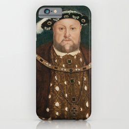 King Henry VIII by Hans Holbein the Younger iPhone Case