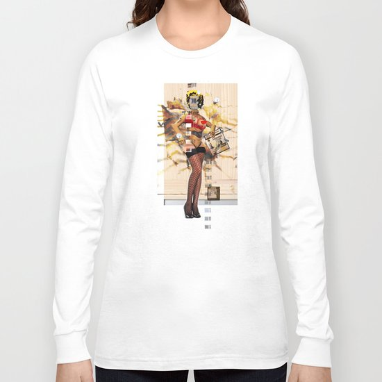 ReBuild Marilyn Collage Long Sleeve T-shirt