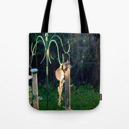 Bird Feed Tote Bag