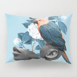 Girl with parrot Pillow Sham