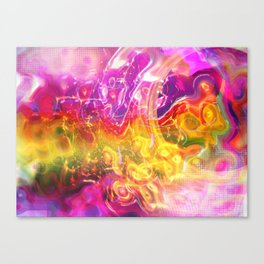 Running Into The Light Canvas Print