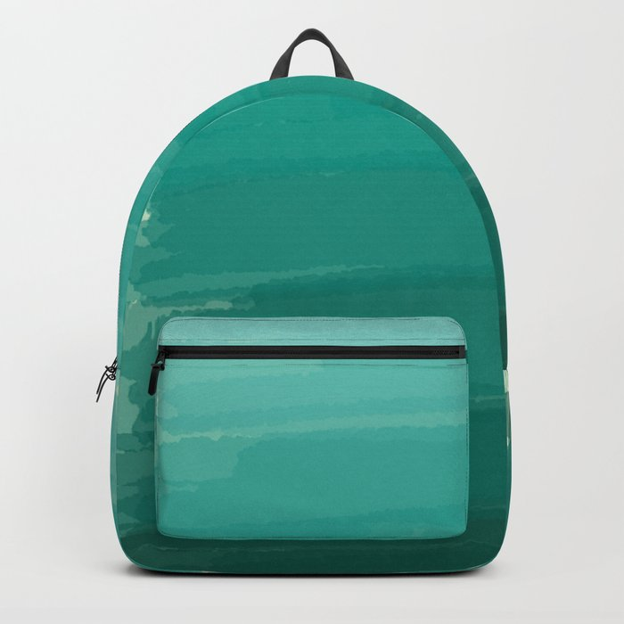 Sea Foam Dream Ombre Backpack