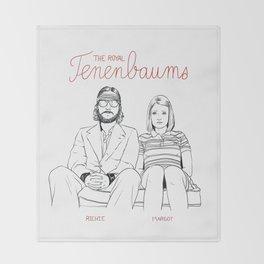 The Royal Tenenbaums (Richie and Margot) Throw Blanket