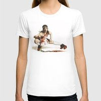 roller derby T-shirts featuring Roller Derby Girl by FeatherStone