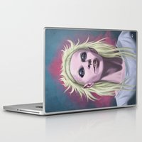 bitch Laptop & iPad Skins featuring  Rich Bitch by Andrea Mangiri