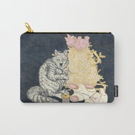 Big Bad Wolf Only Needed a Needle Carry-All Pouch