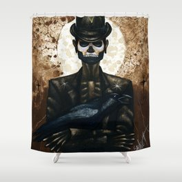 Shadow Man 2 Shower Curtain