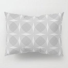 Radial (Black and White) Pillow Sham