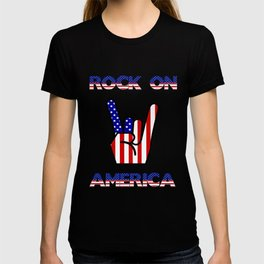 Rock On America - Patriot/Independence Day T-shirt
