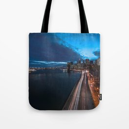 Blue Hour New York City Tote Bag