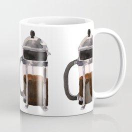 French Press - Brown Coffee Mug