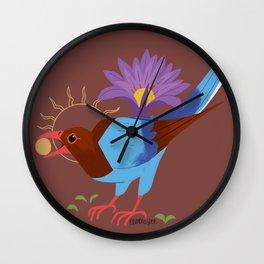 Familiar - Sri Lankan Bluejay Wall Clock