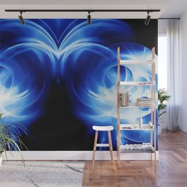 abstract fractals mirrored reacc80c82 Wall Mural