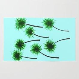 Palm Print Rug