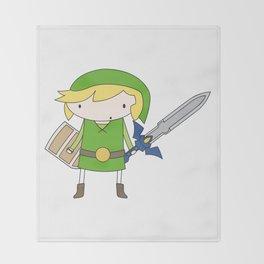 Link - Wind Waker Throw Blanket