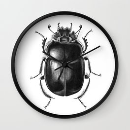 Beetle 13 Wall Clock