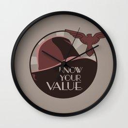 Value Wall Clock